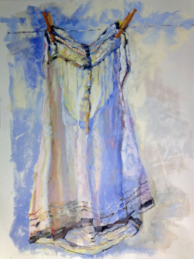 Cotton Nightie  Pastel  18x24