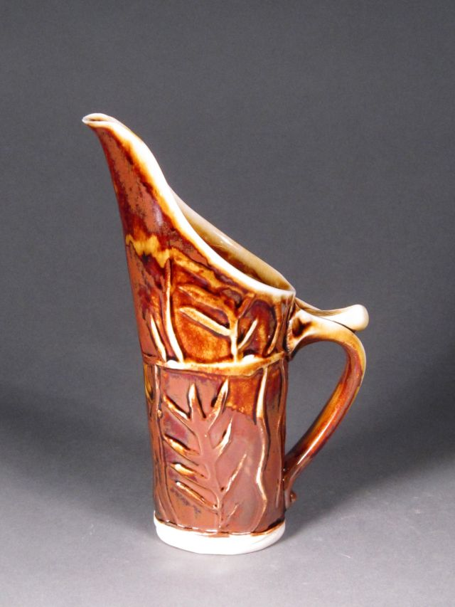 Pottery Pitcher by Rhoda Fleischman