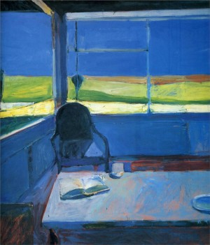 Diebenkorn interior and landscape